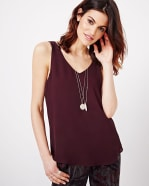 Solid Cami Blouse