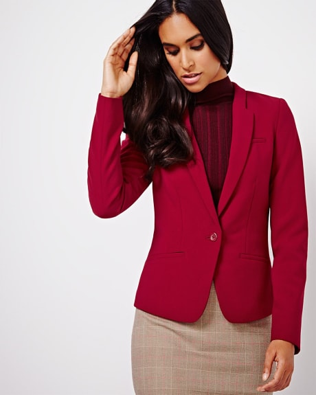 Slim stretch blazer