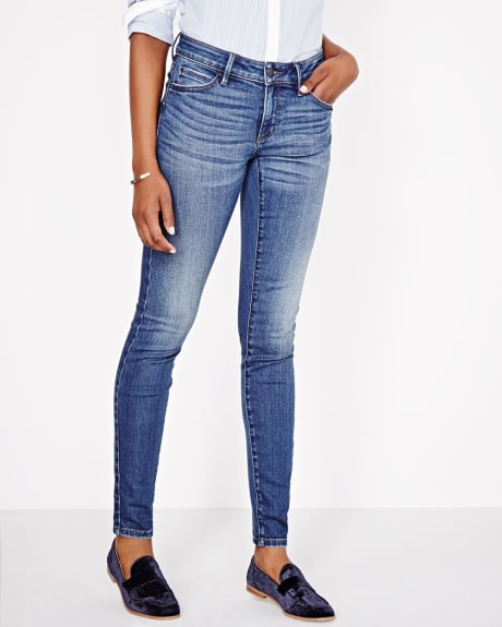 Jean skinny lavage antique