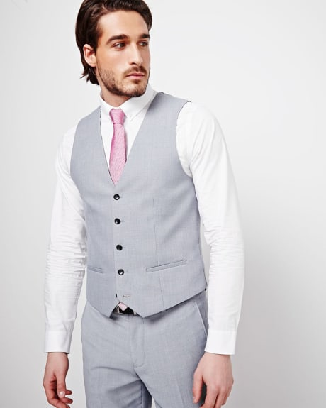 PK Subban Tailored Fit Suiting Vest.Opal grey.36
