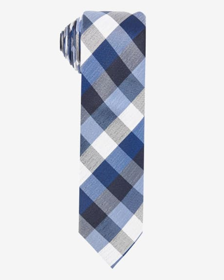 Regular Two-Tone Check Tie