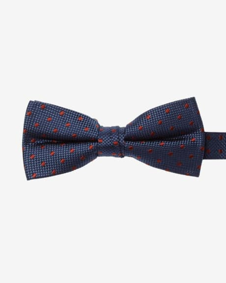 Classic Square Dot Bow Tie
