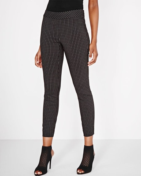 Modern Stretch Windowpane Legging