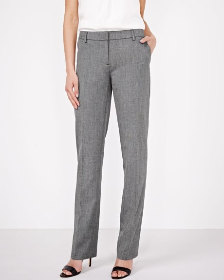 Everyday Stretch two-tone straight leg pant
