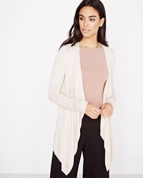 Draped knit Cardigan