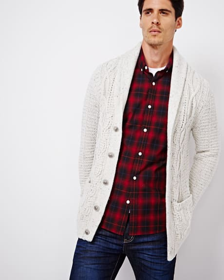 Nep Cable knit cardigan