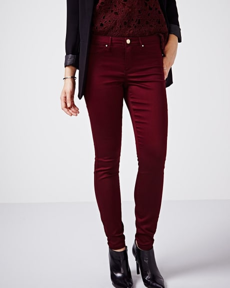 Natalie skinny pant in fashion colours - 32 inch inseam