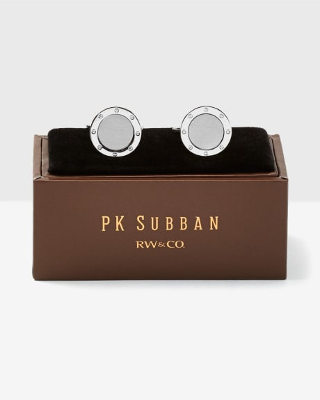 PK Subban Round Cuff Links