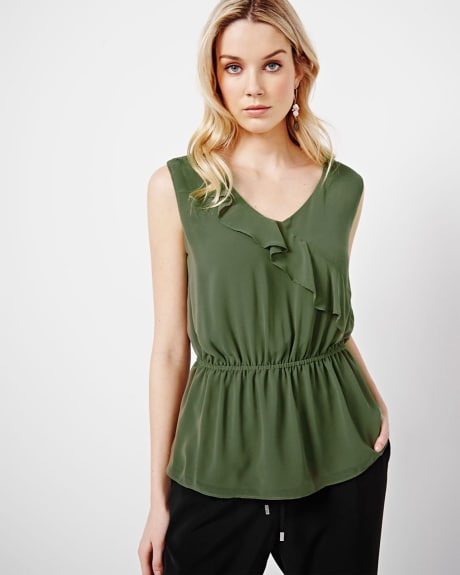 Peplum Blouse with frills