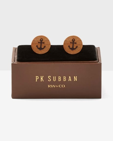 PK Subban Anchor Cuff Links
