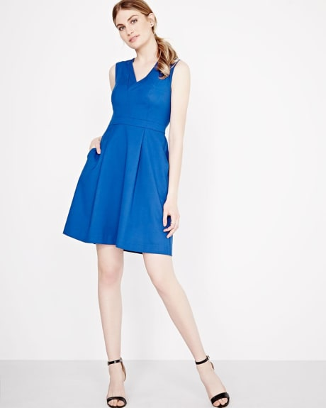 Fit and Flare Everyday Stretch Dress