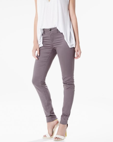 Natalie jegging in grey wash - 32 inch inseam