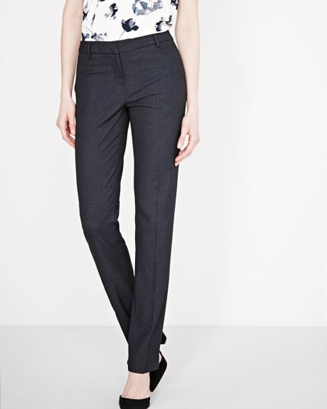 Two-tone Everyday Stretch Straight Leg Pant