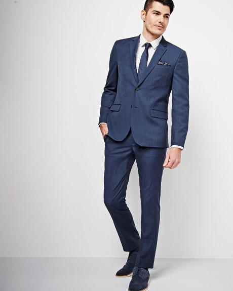 Athletic Fit Blue Blazer - Tall