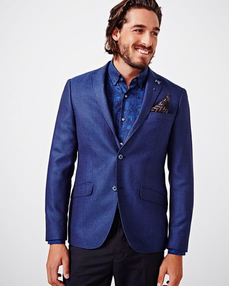 Blue wool blazer by Climber B.C. (TM)