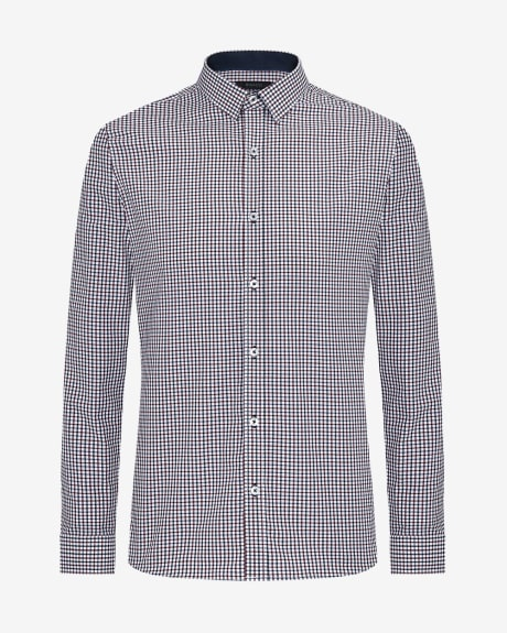 Slim Fit Vichy Shirt