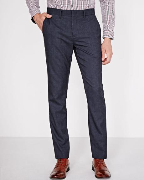 Slim fit checkered City Pant