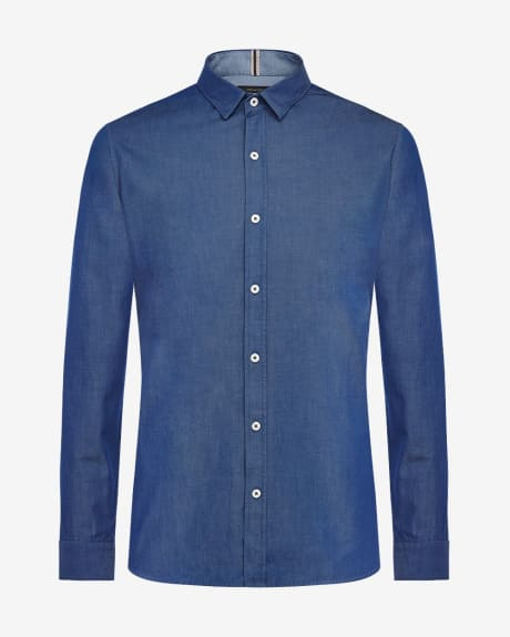 Tailored Fit Denim Shirt