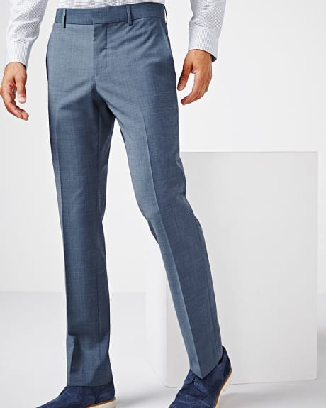 Tailored fit teal traveler pant - Regular