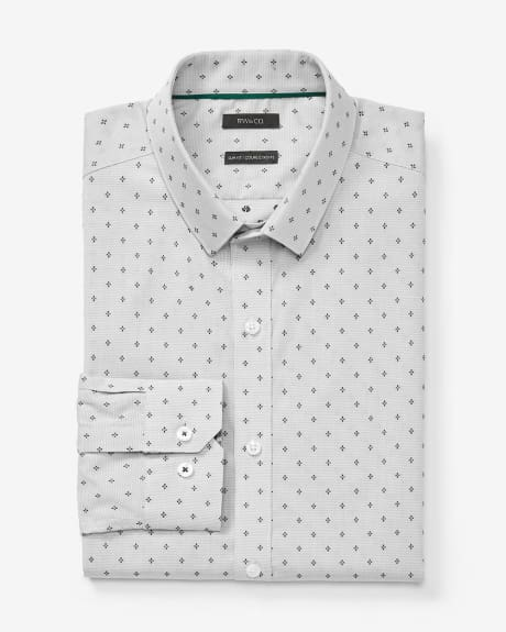 Slim fit forest flower dress shirt