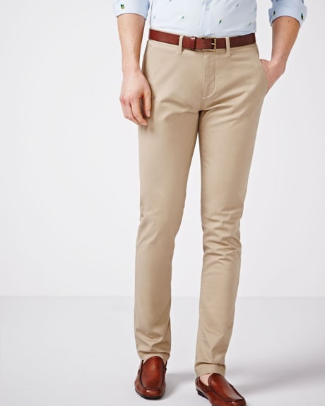 Slim fit chino pant - 34 inch