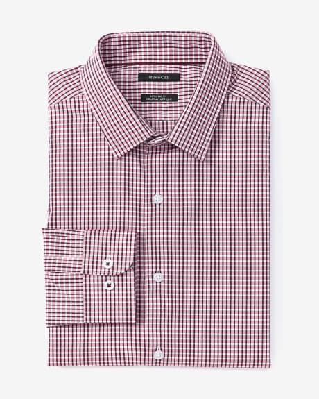 Athletic Fit Check Dress Shirt