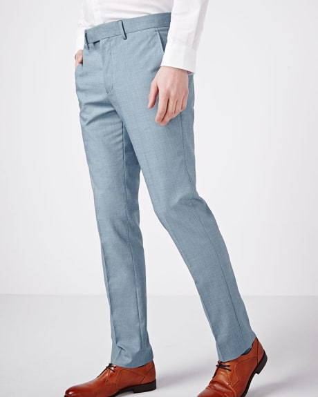 Slim Fit Light Blue Pant - Regular