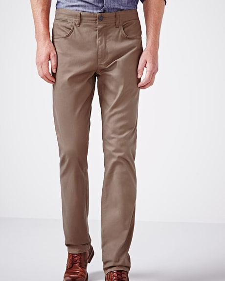Essential Modern straight 5-pocket pant - 34 inch inseam