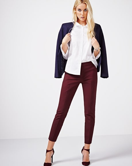 Tailored fit Long sleeve poplin blouse