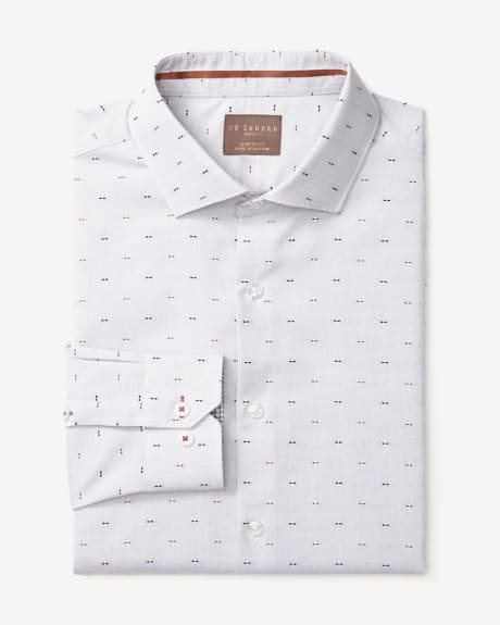 PK Subban Clipping Pattern Athletic Fit Dress Shirt