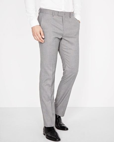 Tailored Fit Salt & Pepper Pant - Regular