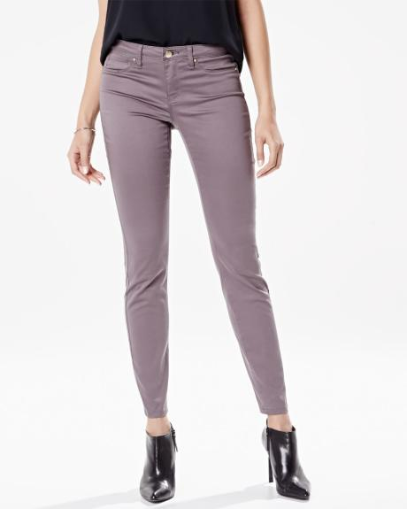 Natalie charcoal grey jegging - 30 inch inseam