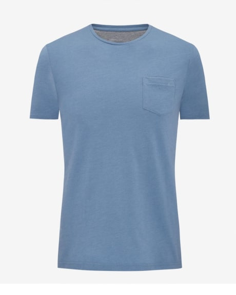 Cotton blend crew neck t-shirt - Fashion colours