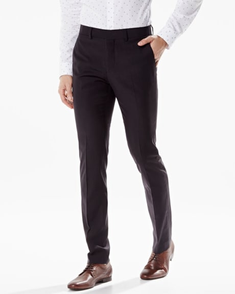 Slim fit wool-blend pant - Tall