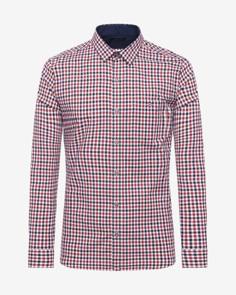 Slim Flit Oxford Vichy Check Shirt