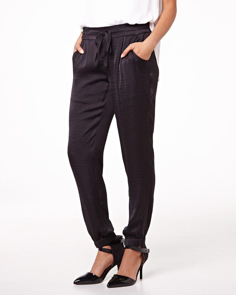 pantalon fluide taille lastique rw co. Black Bedroom Furniture Sets. Home Design Ideas