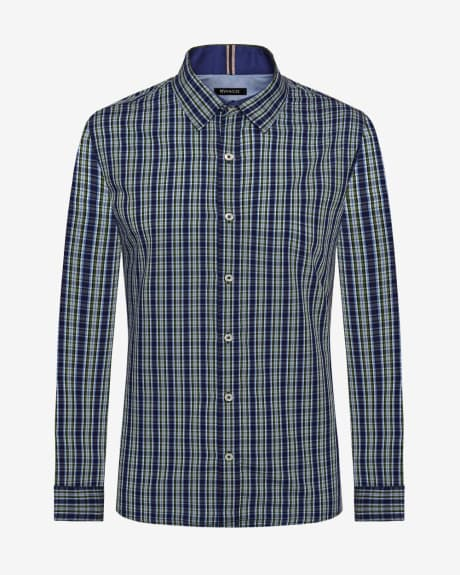 Slim Fit 3 colour check Shirt