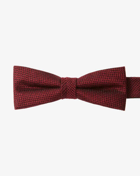 Skinny Red Bow Tie