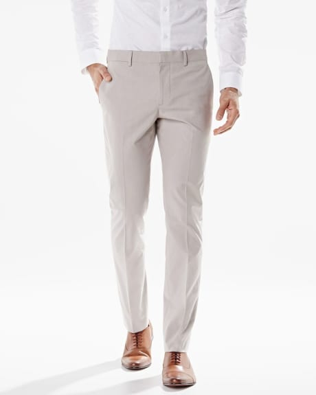 Slim Fit two-tone pant - Regular