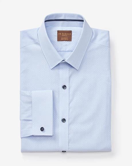 PK Subban Tailored Fit light blue dress shirt