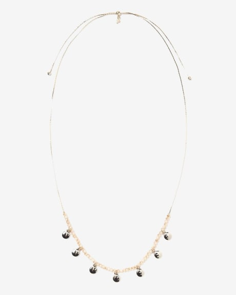 Collier ras de cou ajustable