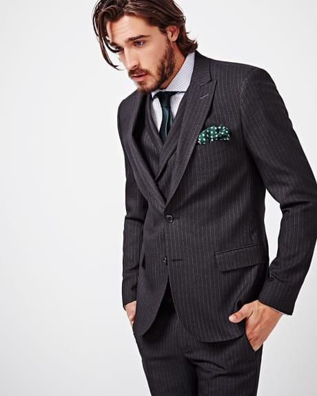 Slim fit gangster stripe blazer - Regular