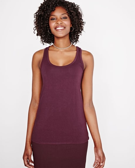 Flowy Racer back Cami T-Shirt