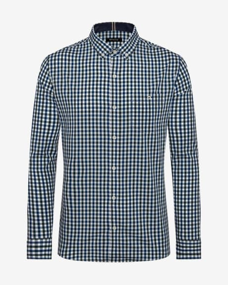 Tailored Fit 3 colours Vichy Shirt