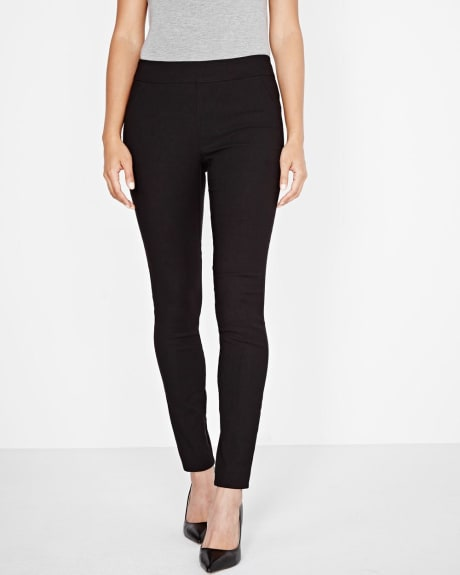 Modern stretch legging in black