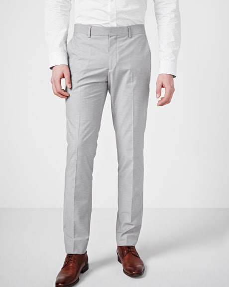 Slim Fit Sharkskin Pant