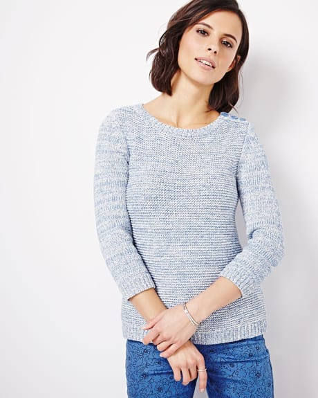 Fancy Stitch Sweater