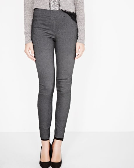Modern Stretch Mini diamond Jacquard Legging