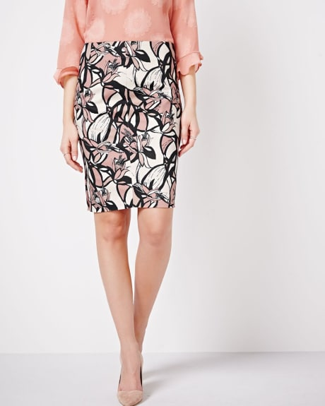 Printed Modern Chic Skirt
