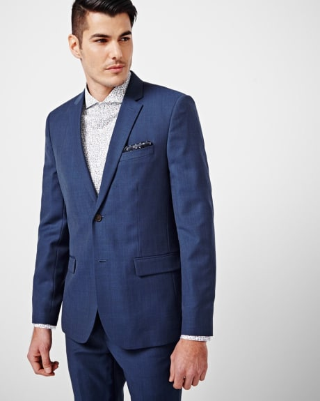 Slim Fit Blue Blazer - Regular